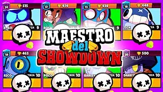 LITERALMENTE IMPARABLE EN MAESTRO DEL SHOWDOWN | Brawl Stars