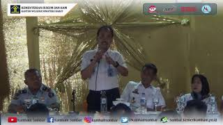 Kunjungan Kakanwil ke Lapas Klas IIA Padang