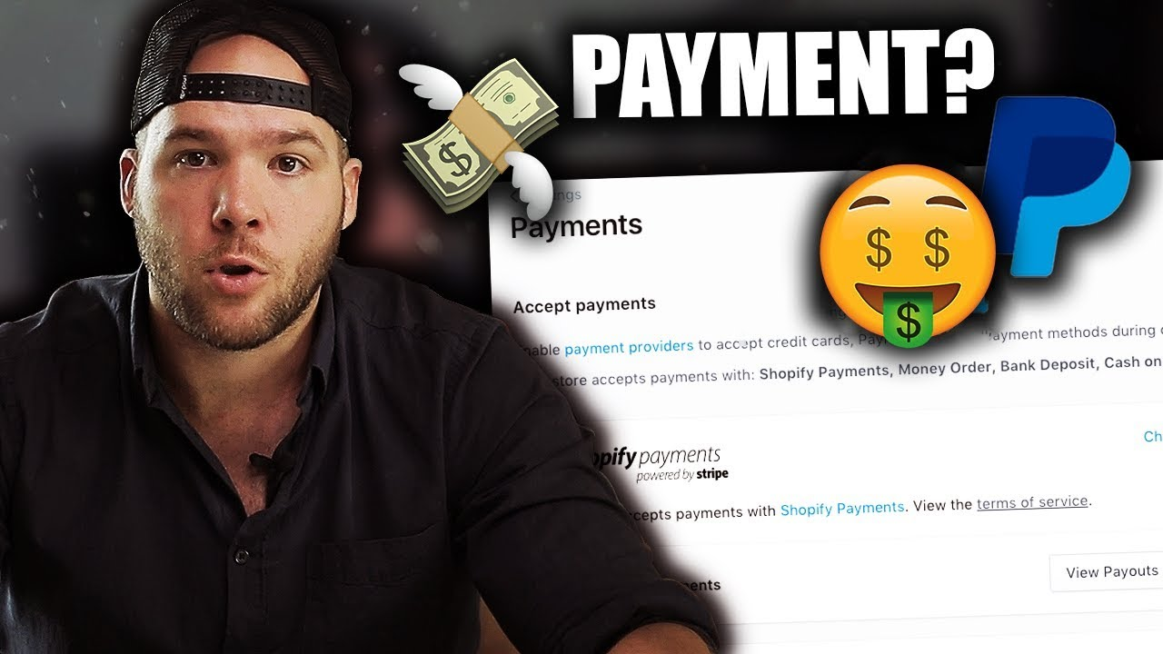 Shopify Beginners Tutorial — PART4 Setting up Payments
