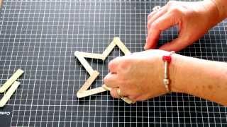 Kids Craft Activity: Popsicle Stick Star