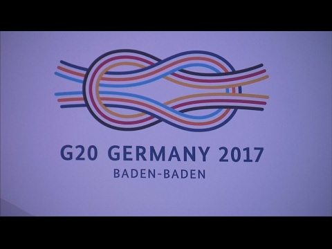 G20 finance ministers to discuss free trade in Germany
