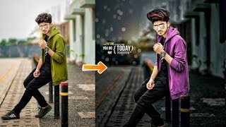 Professional Photo Editing In Simple Trick | New Stylish Editing Trick | Best Picsart Editing