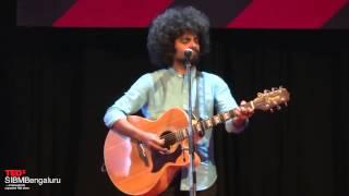 Journey of a Musician | Vasu Dixit | TEDxSIBMBengaluru
