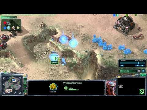 StarCraft 2 – [P] Cannon Rush – Strategy