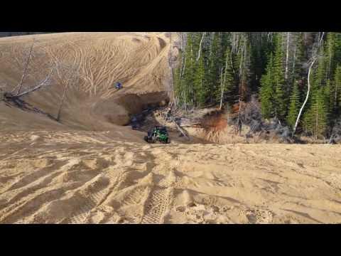 At Walden, CO Sand Dunes