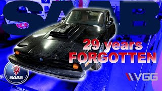 FORGOTTEN 1974 SAAB Sonett III - Will It RUN AND DRIVE after 29 Years?