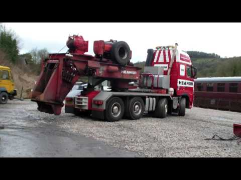 Ecclesbourne Valley Railway - the art of heavy haulage
