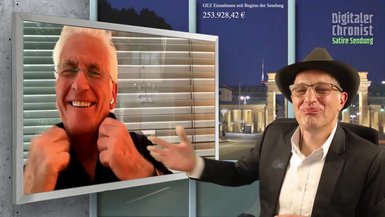 Peter Weber live beim Digitalen Chronisten