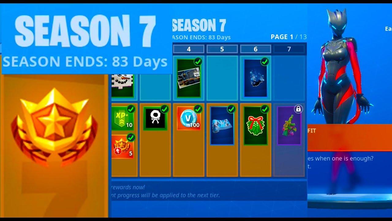 Fortnite Season 7 Battle Pass Details Youtube