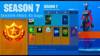 FORTNITE Season 7 BATTLE PASS DETAILS!