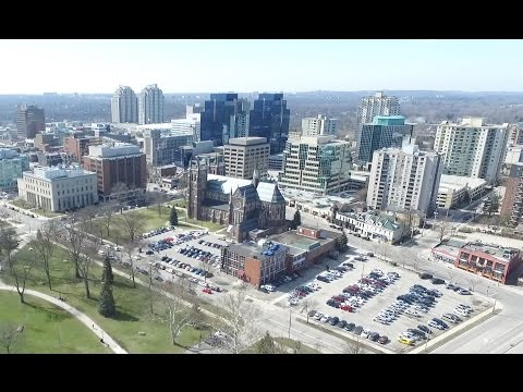 The Most Beautiful Aerial View Of London, Ontario | Victoria Park