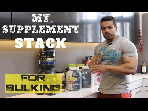 SUPPLEMENTS I USE FOR BULKING