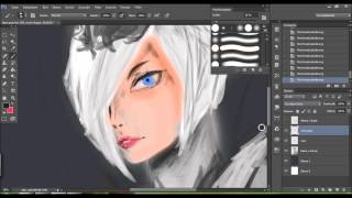 drawing Bloodmoon Elise [League of Legends]