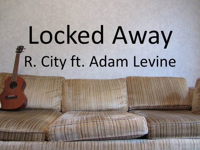 Locked Away - R. City ft. Adam Levine (Ukulele Tutorial) - YouTube