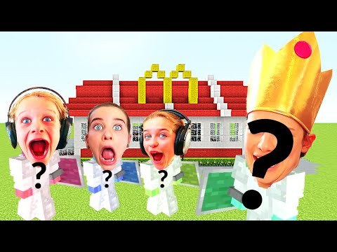 MYSTERY INSPECTOR RATES NORRIS NUTS' RESTAURANT Minecraft Gaming W/ The Norris Nuts