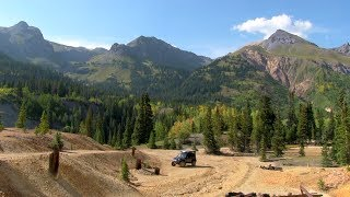 Jeep Trails & Camṗing In Colorado: Ouray, Engineer Pass, Lake City, Box Canyon, Royal Gorge