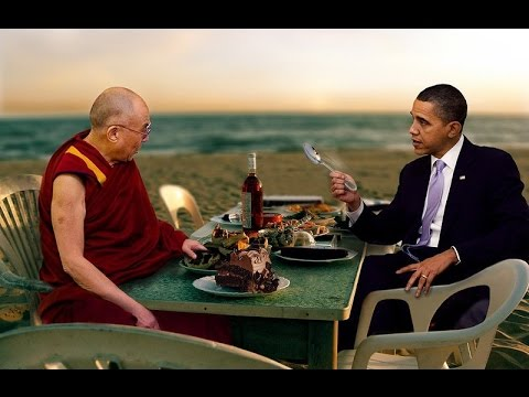 Barack Obama to Appear in Public With Dalai Lama