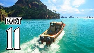 Uncharted 4: A Thief's End Walkthrough PART 11 Gameplay (PS4) No Commentary @ 1080p HD ✔