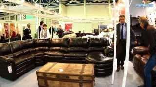 видео Американская кожаная мебель Ashley
