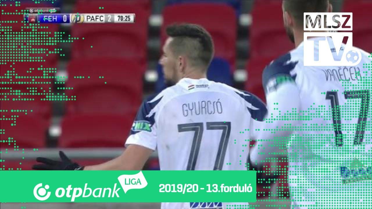 Gyurcsó Ádám második gólja a MOL Fehérvár FC – Puskás ...