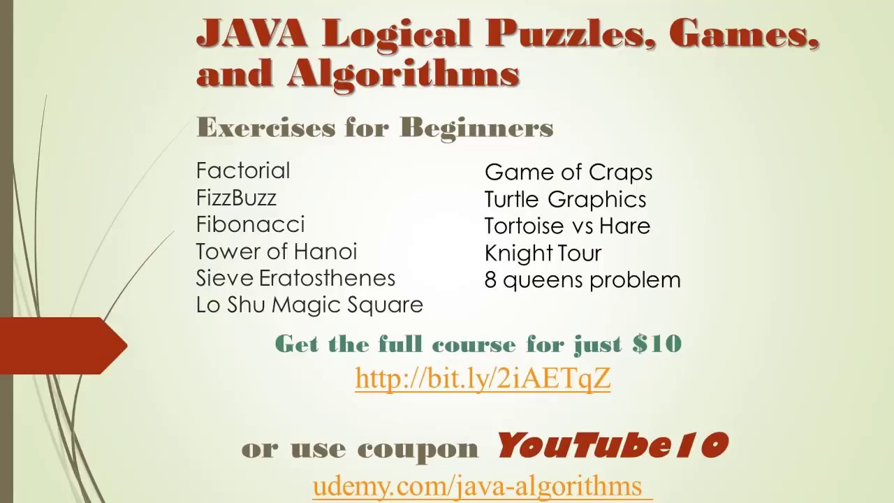 Java Logical Puzzles, Games, and Algorithms: Lo Shu Magic Square Part 1
