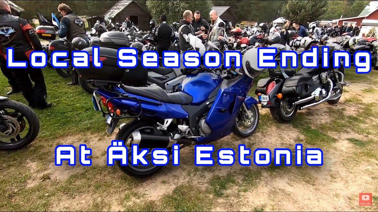 Motorcycle Club 39 Season Ending At Äksi Estonia 2020