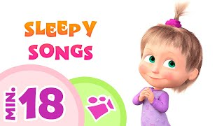 Download lagu TaDaBoom English 💤🌟 SLEEPY SONGS 🌟💤 Best lullaby collection for kids and babies 🎵 Masha and the Bear