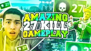 I DROPPED 27 KILLS ON SOLO SQUADS!! (MUST WATCH)