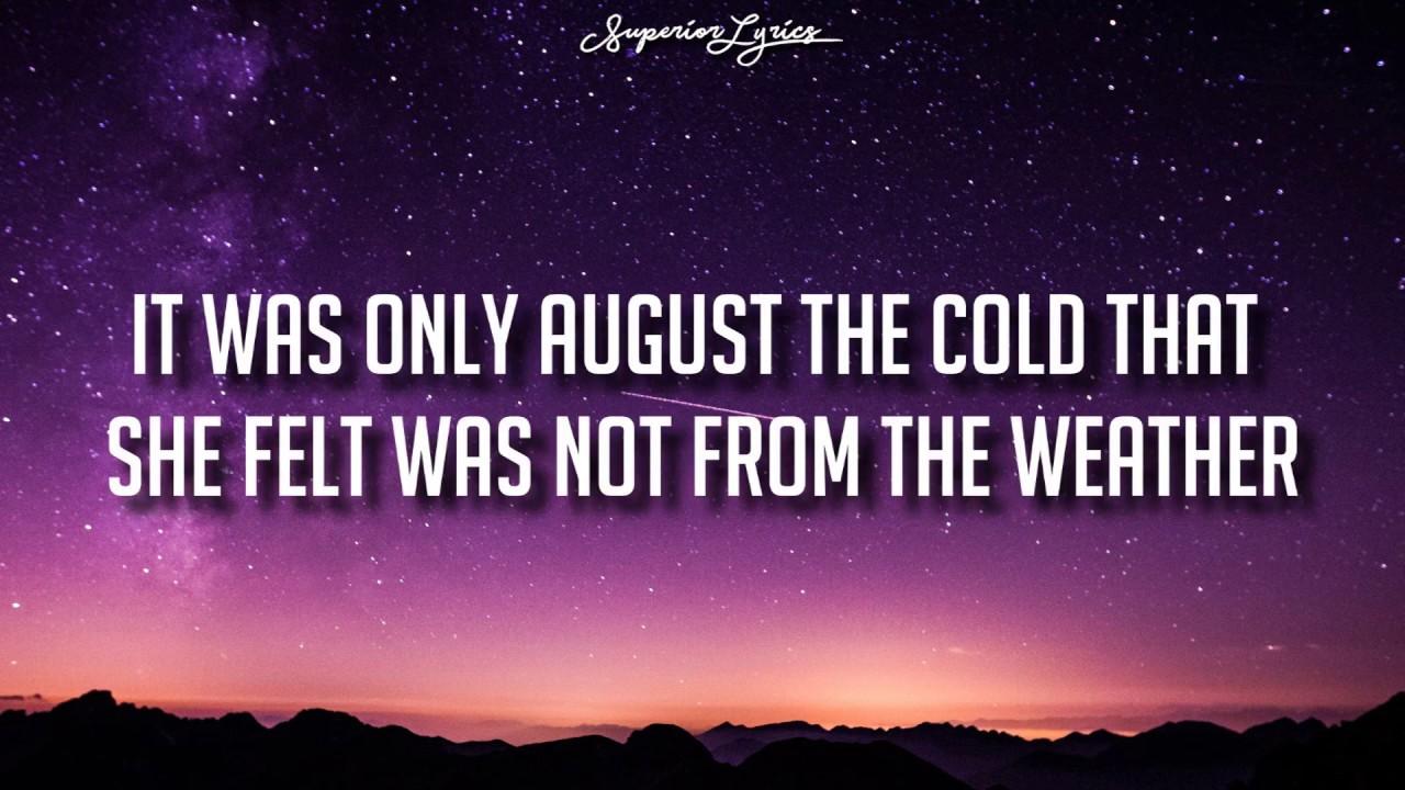 DHARIA - August Diaries (by Monoir) [Lyrics]