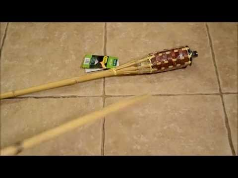How to Make Clatter Sticks (From Tiki Torches)