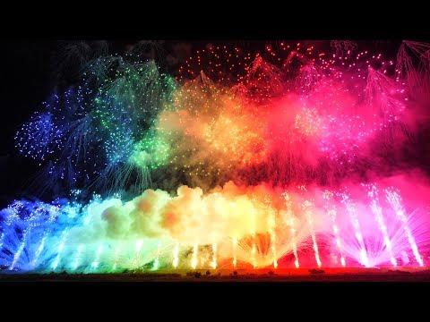 【4K】2017  神明の花火 グランドフィナーレ♪ Most Amazing Fireworks in the World【JAPAN】