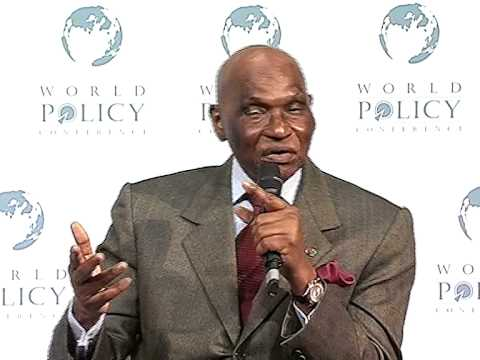 Abdoulaye Wade - Plenary Session Part 4