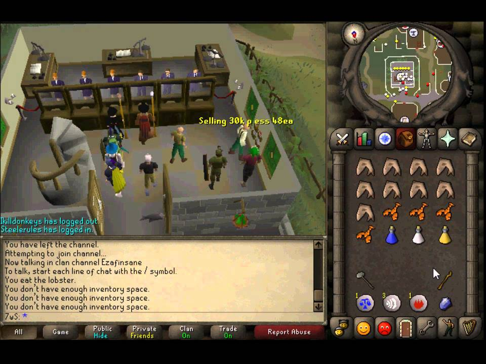 Runescape 2007 Otherworldly Beings Slayer Guide by TheLooneyBin