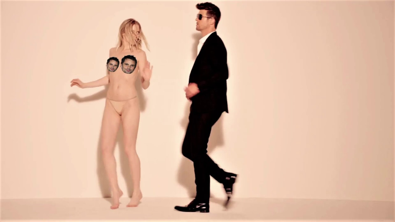 Robin Thicke Just Can't Stop Talking About How Big His Penis Is