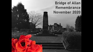 Remembrance - An ecumenical service for Bridge of Allan