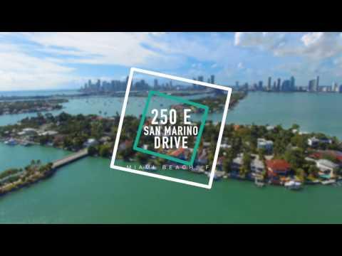 Miami Luxury Real Estate 250 E San Marino Drive Miami Beach, FL