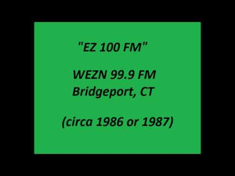 WEZN 99.9 FM - Bridgeport, CT 1986/87