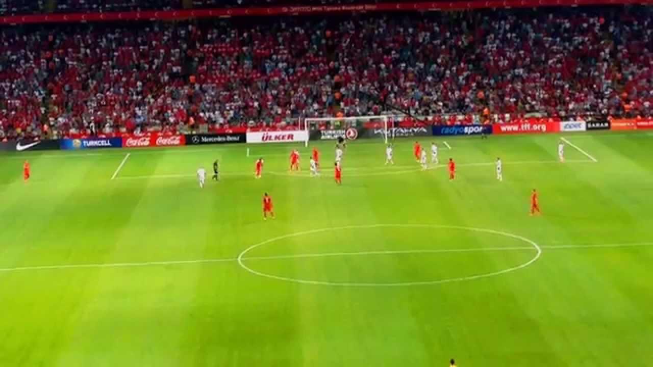 Türkiye - Letonya Selçuk inan Gol Euro 2016