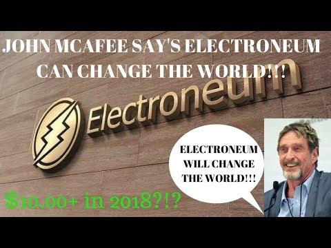 John McAfee Say