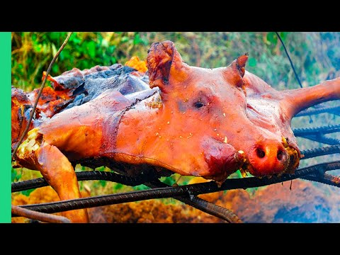 TWISTED Cuban LECHON in Cuba!!! Pork Hammock!!