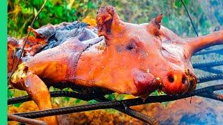 TWISTED Cuban LECHON in Cuba!!! Pork Hammock!!