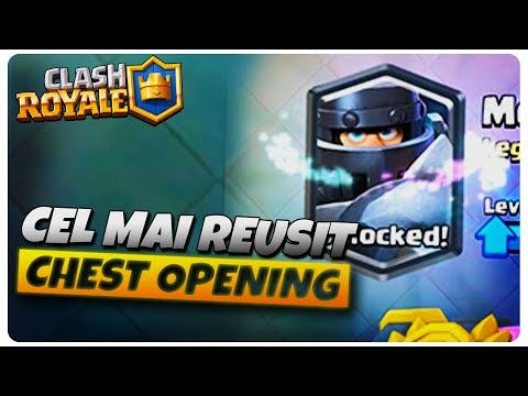 CEL MAI REUSIT CHEST OPENING | CLASH ROYALE ROMANIA
