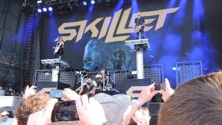 skillet awake and alive darlings water front bangor maine rise above fest july 22 2017