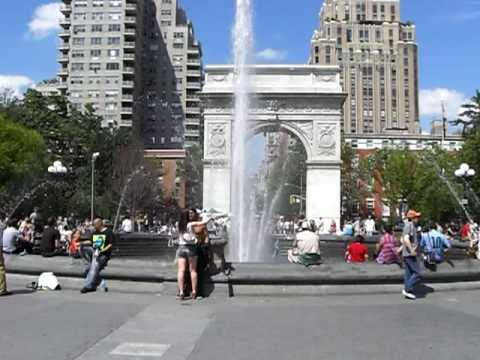Washington Square Park in Greenwich Village, New York City