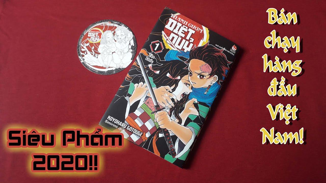 Review Manga #43: Thanh Gươm Diệt Quỷ (Kimetsu No Yaiba) _ Vol.01