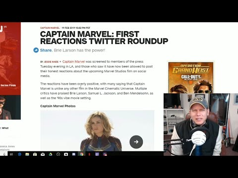 Captain Marvel - First Media Reactions Are Exactly What You'