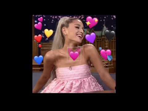 How to make an Ariana Grande Heart Emoji edit | with PicsArt