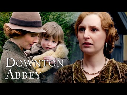 Stay Away Edith!   Lady Edith and Marigold   Downton Abbey