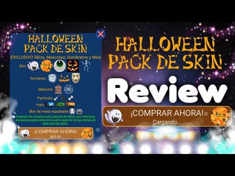 "🔥Nebulous🍘 Pack De Skins ""Halloween"" ~ Review"