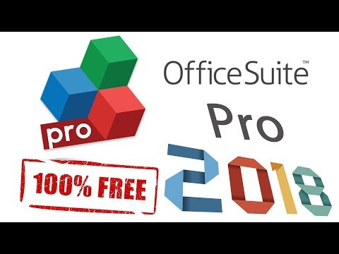 How To Download OfficeSuite Pro 9.9.15160 + PDF For FREEEEEEE 2018
